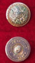 Excavated US Staff Officers' Coat Button With Gilt
