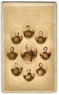 Cdv - Generals Of Our Army, 1861.
