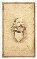 Excellent Cdv of Confederate General & Mason - Albert Pike