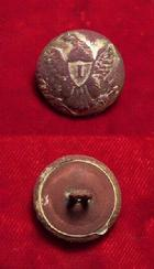 Excellent Eagle -I- Coat button with Gilt