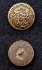 Outstanding Excavated WC1 Wisconsin State Seal Staff Officer�s Coat Button