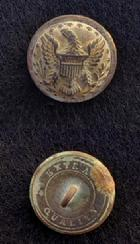 Beautiful Excavated US Staff Officers Coat Button