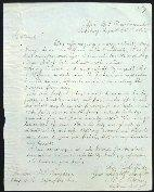 Original Quartermaster's Letter written and dated at Vicksburg, Mississippi, barely a month after the surrender.