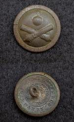Beautiful Excavated OC3 US Ordnance Corps Coat Button