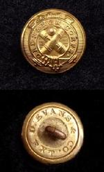Fine OC5 Civil War Period Ordnance Department Cuff Button
