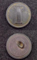 Very Pretty CS172 Confederate Lined -I Infantry Coat Button