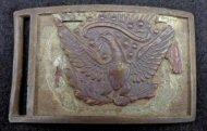 Fine Excavated �US Allegheny Arsenal� Sword Belt Plate w/Intact Eagle