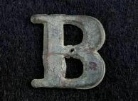 Nice Excavated Company Hat Letter -B-