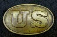 Beautiful Non Dug U.S. Boxplate - Perfect for a Cartridge Box Needing One - Or Just Great with a Display of Plates