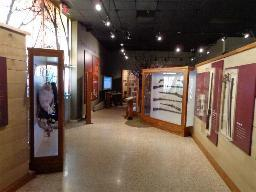 A couple of years ago, the Prairie Grove Battlefield State Park Museum received an interior remodel. It looks wonderful now with a mix of interpretive panels full of information, and orginal artifacts, many carried or used by soldiers who participated in the battle. Since I am there once a month May thru September, displaying additional orginal artifacts, thought I would take a few minutes and get some pictures of some of their displays. These few pictures don't cover it all by any means, and if you are in the NW Arkansas area, don't miss the chance to visit the Prairie Grove Battlefield State Park & Museum.