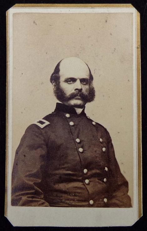 Excellent Period Cdv Image of US General Ambrose Burnside