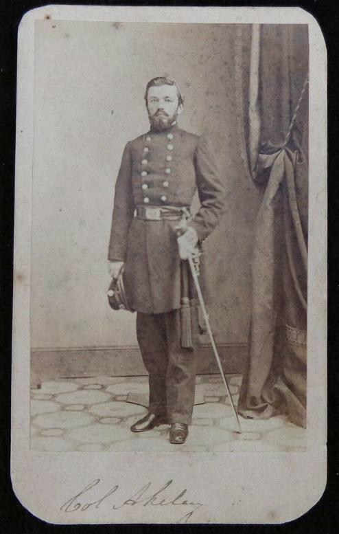 Nice Cdv of Commander of Fremont's Bodyguard Major Charles Zagonyi