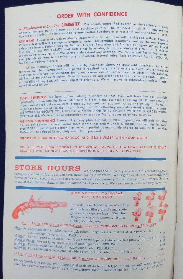 Old Flayderman Military Antiques Catalog No. 78