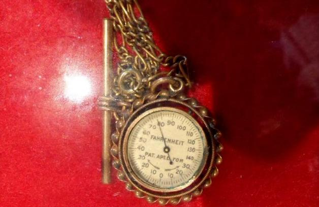 "A Period ""Gentleman's"" Thermometer, meant to be worn daily like a Pocket Watch."