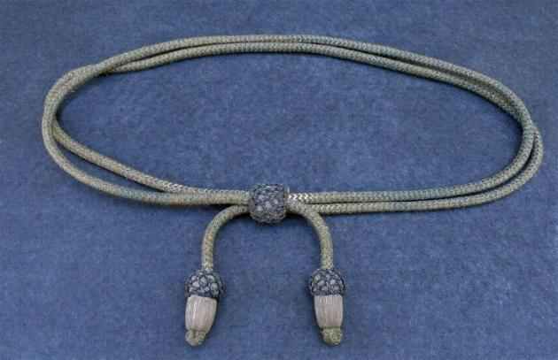 Fine Civil War Period Officer's Hat Cord