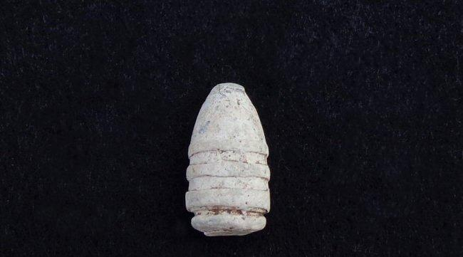 Nice Dropped .44 Caliber Slant Breech Sharps Bullet - Recovered Pilot Knob, Missouri.
