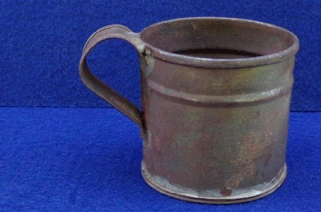 Nice Civil War Period Soldered Tin Cup