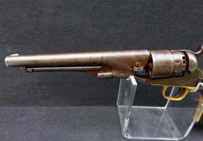 Nice All Matching 1860 Colt Army Revolver - .44 Caliber Produced Early 1862.