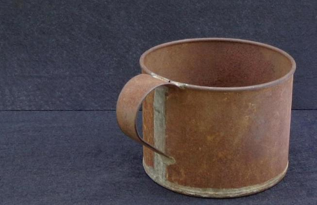 Fine Soldered Civil War Period Tin Cup