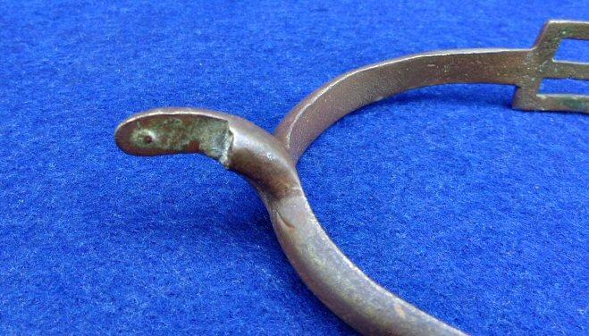 Nice Dug US M1859 Cavalry Spur w/Foliate Design