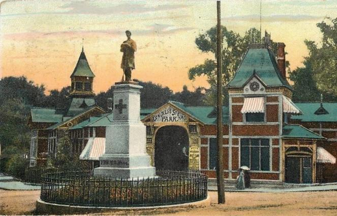 Old Post Card Image [ Not Included] of the same monument.