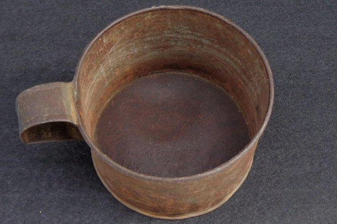 "Nice ""Relic Condition"" Civil War Period Tin Cup"