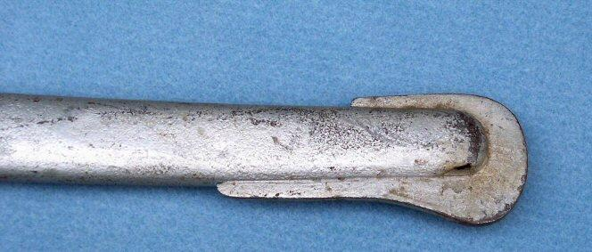 Fine M1840 Heavy Cavalry Saber by Horstmann Philadelpia - Silver Painted Scabbard likely from GAR Hall Display