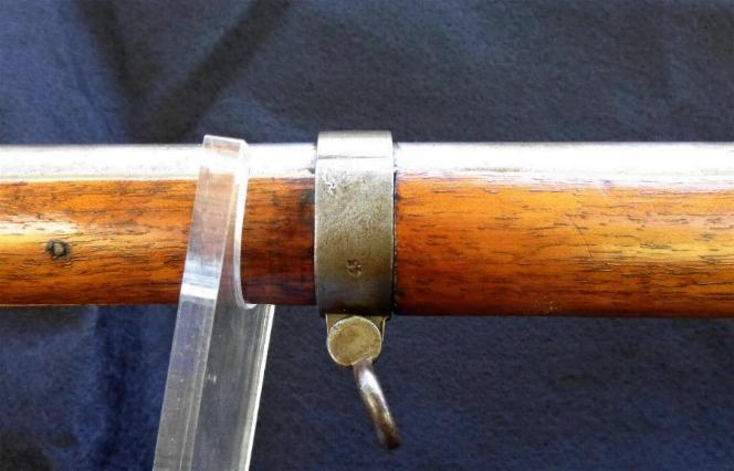 CLICK HERE FOR MORE PICTURES OF Nice Fully Functional 1828 Austrian .69 Caliber Musket w/Bayonet