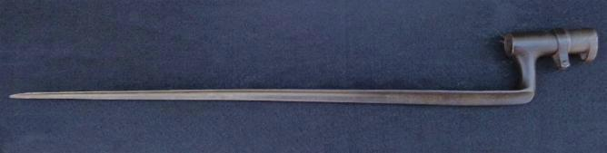 "M1857 ""Drake Pattern"" Spanish Socket Bayonet"