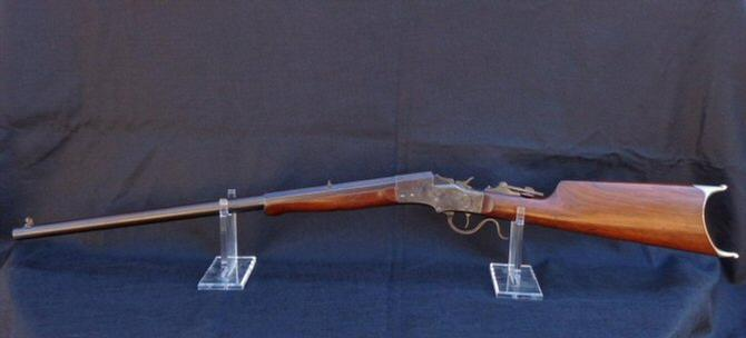 "NRA ""FINE"" Stevens Removable Side-Plate Falling Block Rifle - Less Than 2,000 Produced Ca. 1893-1894"