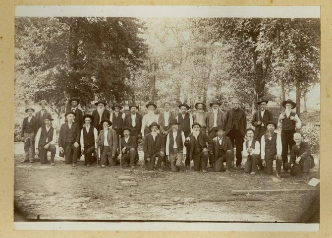 Reunion of the Blue & Gray, Strickler, Arkansas, date unknown.