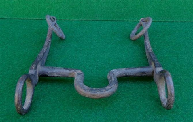 Nice Non-Dug Confederate Trooper's Bridle Bit Variation