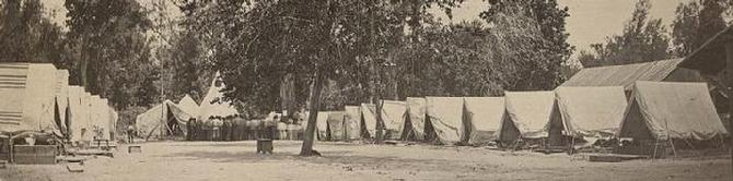 Original Civil War Camp Photograph Courtesy of the Library of Congress Prints & Photographs Division